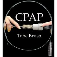 Cpap Tube Brush For Slim Line 15mm Supply Hose, Stainless Steel By Monaco