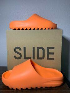 adidas Yeezy Slide Enflame Orange GZ0953 MULTIPLE SIZING FAST SHIPPING