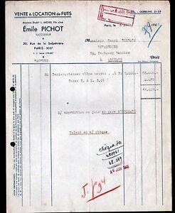 PARIS-XIII-FUTAILLES-FUTS-034-L-MICHEL-Emile-PICHOT-Succ-034-en-1948