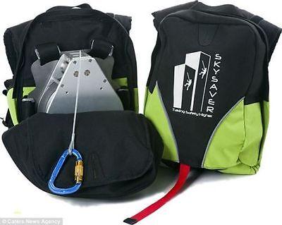 Skysaver 260 ft Emergency Fire Escape Survival Rescue Backpack Sky Saver SKS260