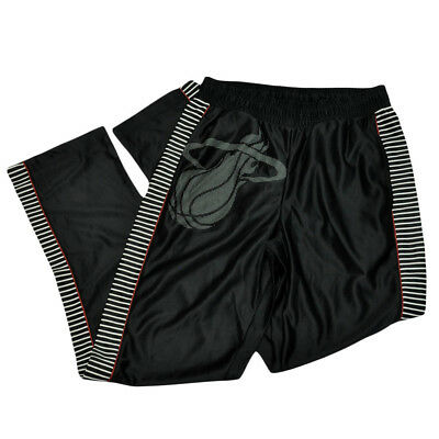Nba Unk Miami Heat Hive Massiv Herren Fitness Tunnelzug Basketball Hose Schwarz Baseball & Softball Sport