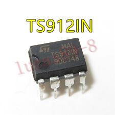 2PCS TS912IN IC OP AMP R-R DUAL 8-DIP 912 TS912