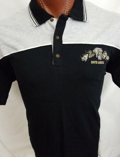 NWT Ecko Unltd Rhino Men/'s Big /& Tall Short Sleeve Knit Polo Black Shirt