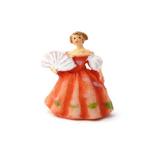 Melody Jane Casas de Muñecas Vestido de Dama en roya Estatuilla Ornamento en Miniatura Accesorio