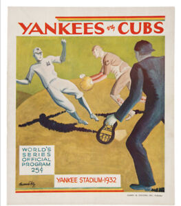 1932-World-Series-Program-New-York-Babe-Ruth-Games-1-amp-2-Called-Shot-Series-RARE