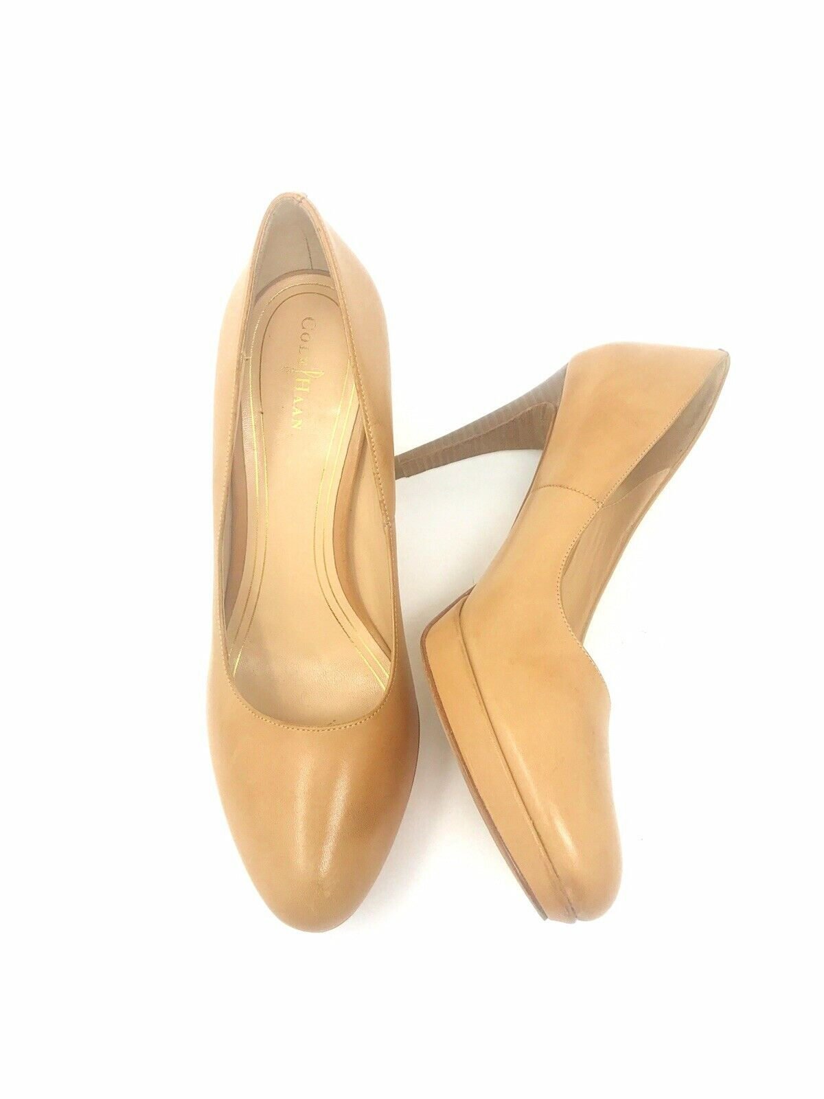 COLE HAAN, CHELSEA HIGH PUMP, WOMENS, SANDSTONE US SIZE 10 B,