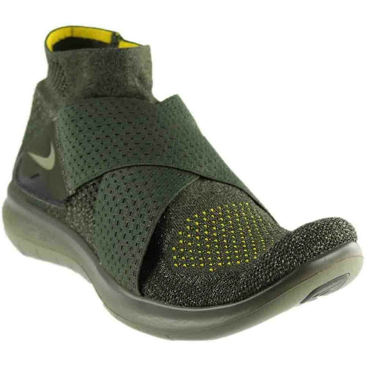 Nike Free RN Motion FK 2017 Flyknit Mens Running shoes (Sequoia Green, 10.5)