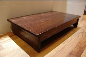 Handcrafted Heavy Duty Wooden Bedside Step Stool 7 Quot Tall