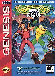 Battletoads Double Dragon The Ultimate Team Sega Genesis 1993