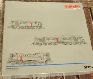 Märklin 37203 Emballages Vides Pour 3x Locomotives Diesel V16,v 188,v 120