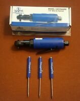 Cornwell 1/4 Air Ratchet.powerful Air Tool 30 Ft Lbs. Compact Design. 3 Free Sd.
