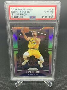 2019-Panini-Silver-Prizm-Stephen-Curry-PSA-10-Low-Pop-HOT