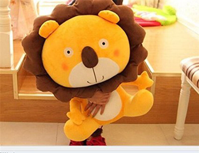 24in.60CM Big Plush Lion Giant Large Stuffed Soft Plush Toy Doll Pillow Gift A++