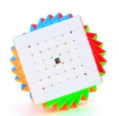CuberSpeed Moyu MoFang JiaoShi Meilong 4x4 stickerless Magic Cube MFJS MEILONG 4