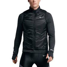 NWT NIKE MENS POLY FILL RUNNING TRAINING VEST BLACK 689475-010 SIZE LARGE L $80