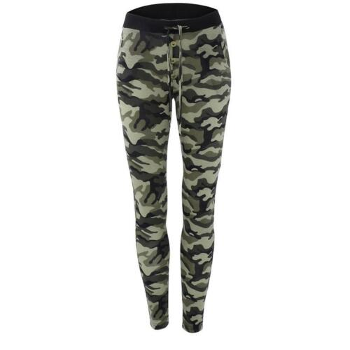 Hot New Camouflage Camo Women Lady Girl Slim Pants Leggings Stretch Trousers
