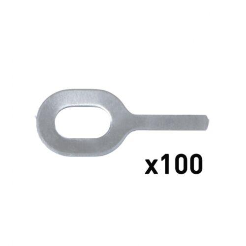 GYS 100 Gerade Ösen Al-Special Ø 1,0Mm Für Spot Arcpull 059535