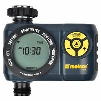 Melnor Digital 1 Zone Programmable Water Timer And Controller For Garden 33015