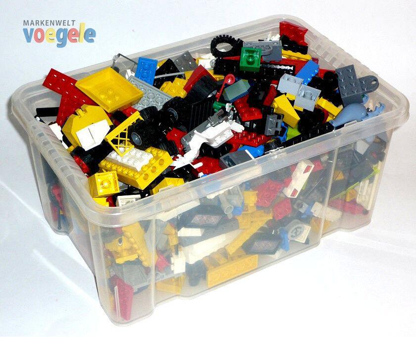 2 kg LEGO ca. 1400 Pièces LEGO Articles au kilo Pierres,Plaques,Roues