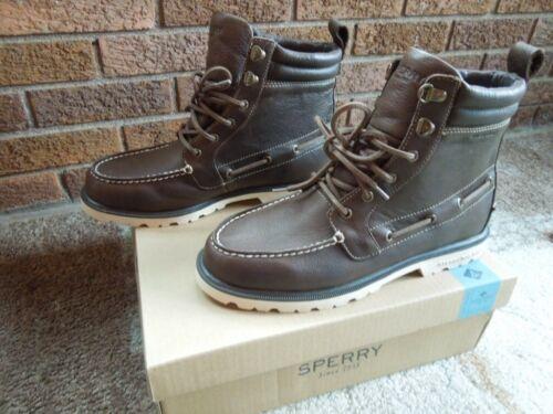 Sperry Mens Top-Sider Men/'s A//O Lug II Weatherproof Brown Boot Size 10