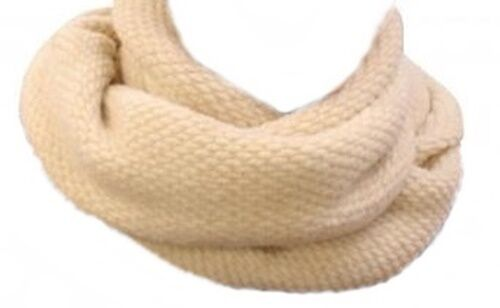 MERINO WOOL SHAWL MODERN SCARF PERFECT FOR GIFT WOOL SCARF NEW /& NATURAL !