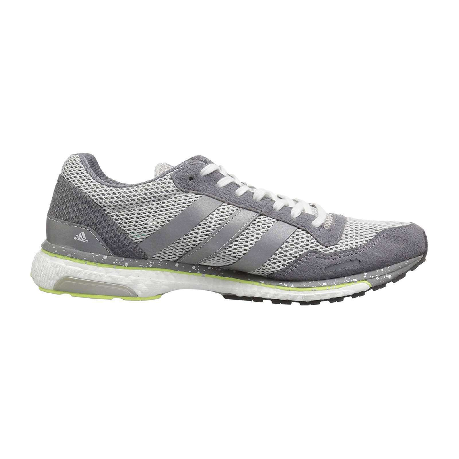 Women Adidas Adizero Adios Grey Running shoes shoes shoes Womens ADIDAS BB6410 NEW 7888c4
