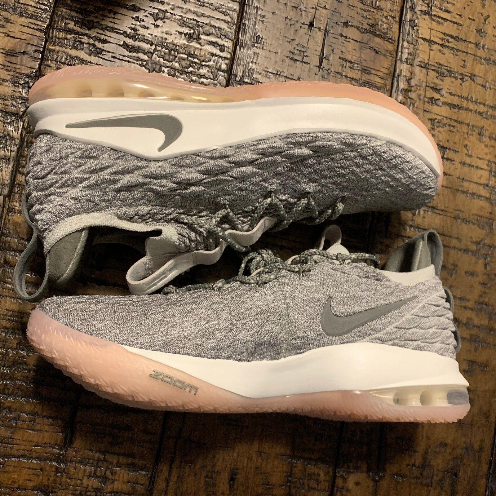 Nike Lebron Xv Low White Light Bone  SZ 12 AO1755-003 NO BOX TOP