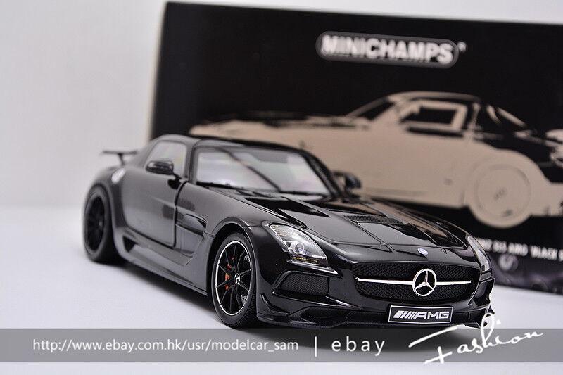 Minichamps 1 18 Benz SLS AMG Series Noir
