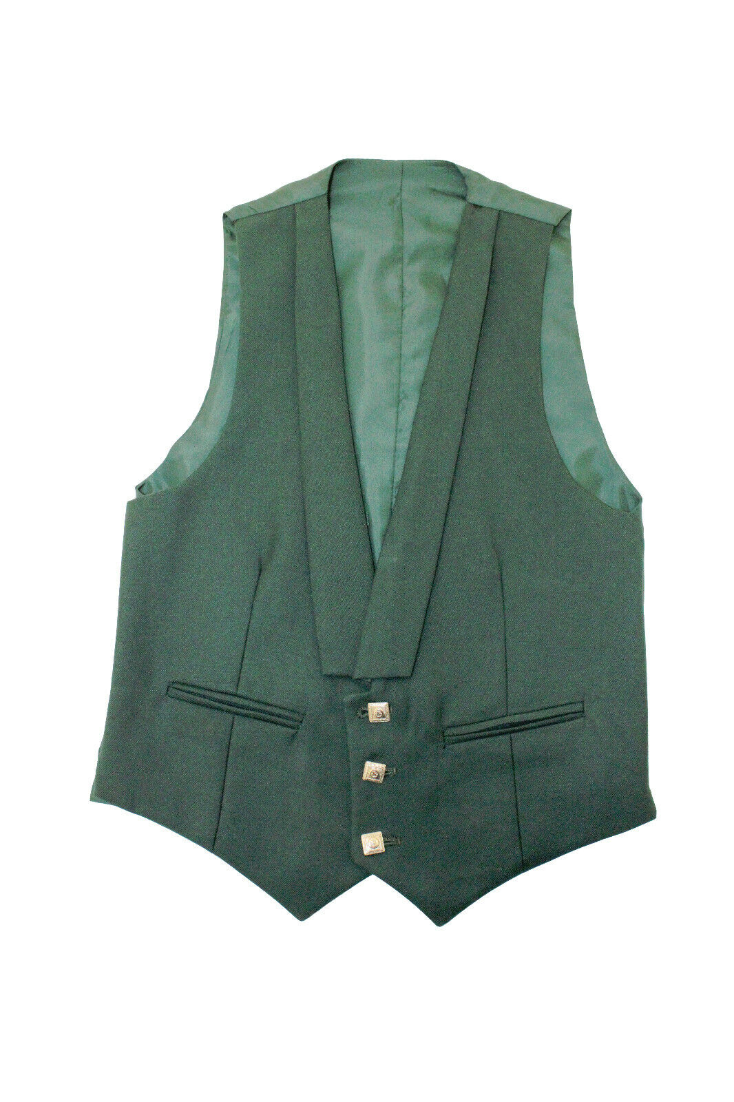 EXHIRE Green Prince Charlie Vest - reduced to clear - size 34