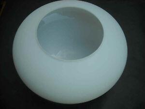 Lampenschirm Glas Ersatz E27  weiß - K0209 - Ø ca. 37 cm Deckenlampen