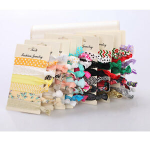 Women-039-s-Elastic-Hair-Rope-Ring-Tie-Scrunchies-Ponytail-Holder-Hair-Accessories
