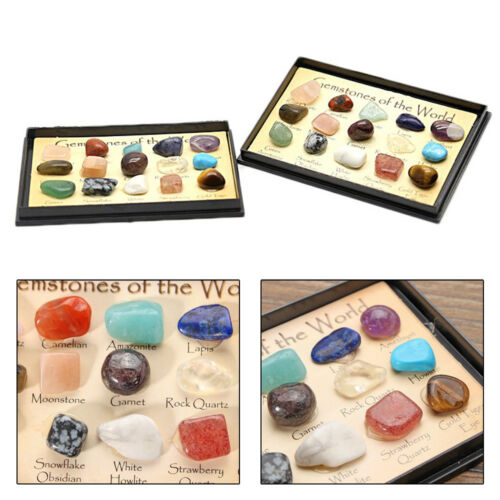 Natural Crystal Stones Mineral Rocks Specimens Healing Gems Collection Gifts