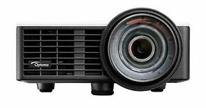 Optoma Ml750st 3d Ready Dlp Projector - 720p - Hdtv - 16:10 - Front - Led -