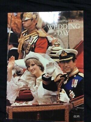 Princess Diana And Prince Charles Wedding Day Book Ebay