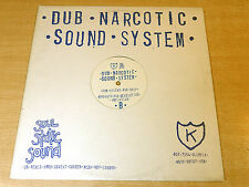 """Dub Narcotic Sound System/Industrial Breakdown/1996 Soul Static Sound 12"""" Single"""