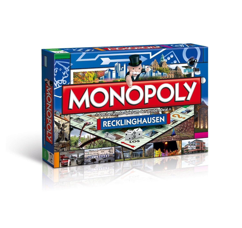 Monopoly Recklinghausen City Edición Cityedition Ciudad Juego de Mesa Nuevo