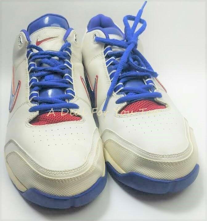 2018 Nike Air Max 13 legendario Blanco Varsity Royal AzulRojozapatos 13 Max hombres aa5ee0