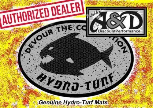 Hydro-Turf Sheet 2Tone Boating Carpet SHT37CD-2T CUT DIAMOND BLACK ON YELLOW