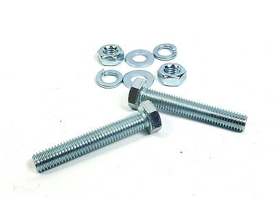 Honda Exhaust Bolt and Nut and washers Set BZP High tensile High Strength steel