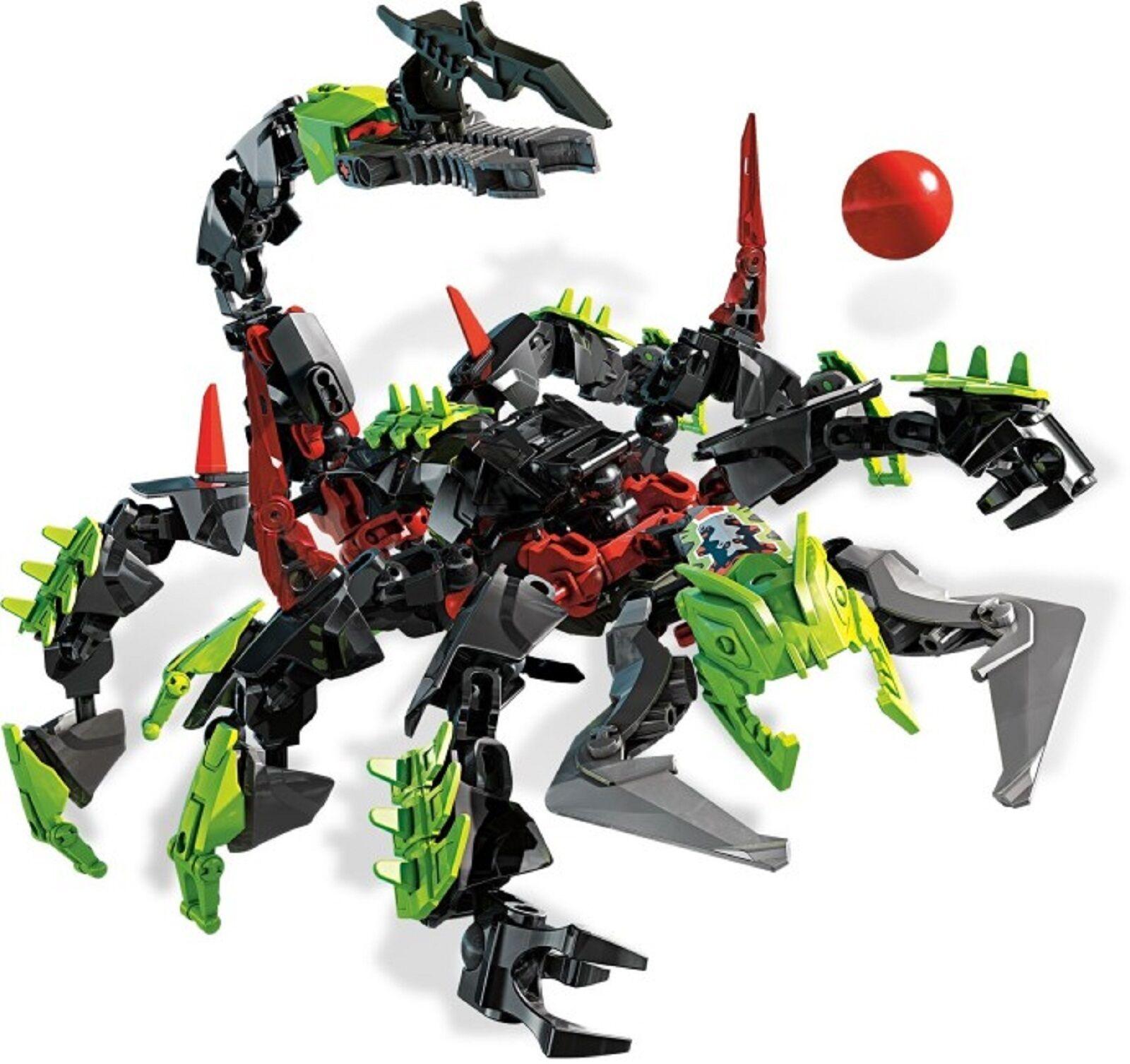 Lego 2236 Hero Hero Hero Factory Villians Scorpio complet à 100 % de 2011 + Notice -CN111 12dd24
