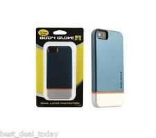 OEM Body Glove Icon Slide On Hybrid Case For Apple Iphone 5 Orange Silver Blue