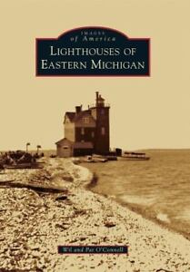 Lighthouses-of-Eastern-Michigan-Paperback-or-Softback