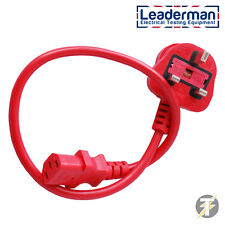 LDMIEC13A460 0.5 Meter IEC Test Lead For PAT Testers (Seaward & Others)