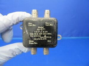The Antenna Specialists Triplexer P/N AV-571 (0518-115)