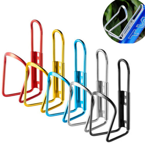 Aluminum Bicycle Bike Cycling Water Bottle Cage Drink Rack Holder Bracket  NEW