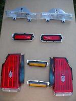1981-1986 Monte Carlo Monte Carlo Ss Complete 8 Pc Light Set