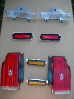 1981-1986 Monte Carlo Monte Carlo Ss Complete 8 Pc Light Set