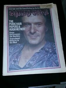 Hugh-Hefner-Rolling-Stone-Magazine-Issue-150-12-20-73-Excellent-Condition