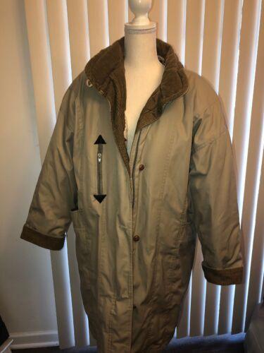 taglia 14 Cyclone donna cappotto vintage da Piumino marrone x6qTYcX