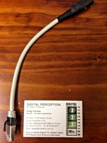 8 Pin Din Socket Bang /& Olufsen Compatible Adaptor RJ45 Plug to Powerlink V3